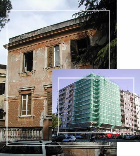 costruzioni e restauri roma