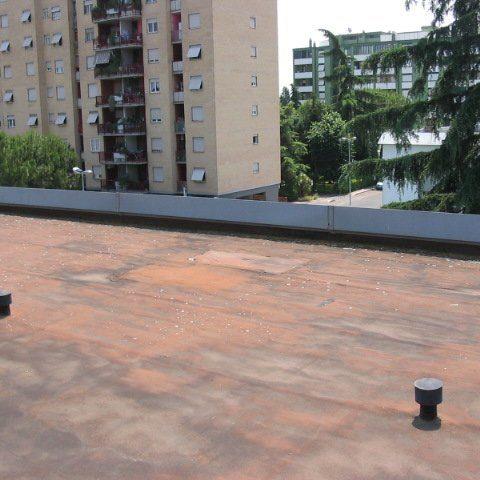 Roma – Via Bongiorno – Rifacimento impermeabilizzazione coperture