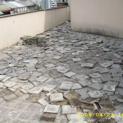Roma – Via Facchinetti – Rifacimento impermeabilizzazione coperture